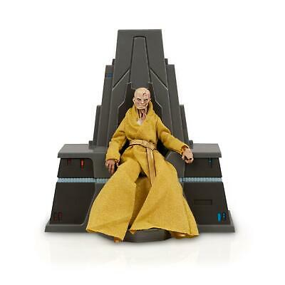 """Star Wars Black Series Last Jedi Snoke With Throne 6"""" Loose Action Figure Stand"""