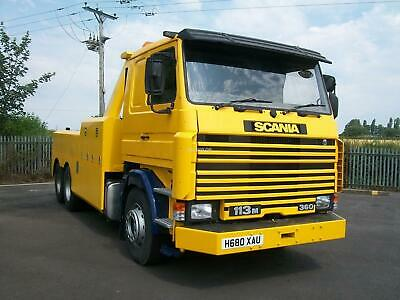 1991 Scania 113M 360 6X2 Recovery Truck