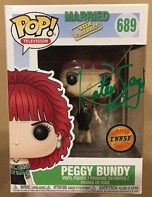 Katey Sagal Signed/Autographed Funko Pop Married With Children Peggy Bundy COA