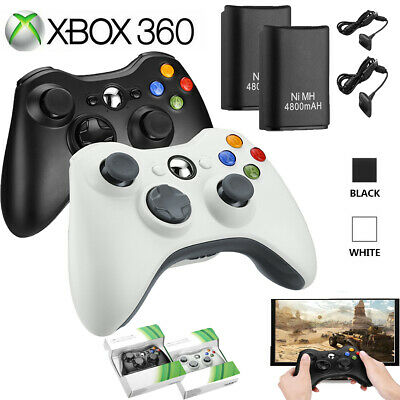 USB Wired / Wireless Game Controller Gamepad Joystick For Microsoft Xbox 360& PC