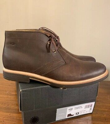 a79ec36b337 UGG MEN'S DAGMANN Chukka Boots lace Up Suede Olive 8.5 NEW IN BOX ...
