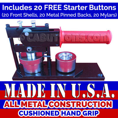 "1-1/4"" inch New High Quality Made in USA Tecre Button Maker Machine Press"