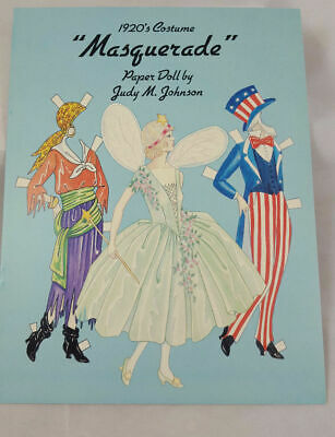 1920's Masquerade Paper Doll By Judy M. Johnson