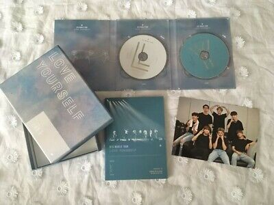 BTS World Tour 'Love Yourself' Europe DVD No PC US Seller FREE SHIPPING