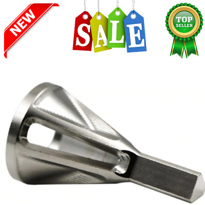 1PC Drill Chuck Deburring External Chamfer Tool Stainless Steel Remove Burr NEW