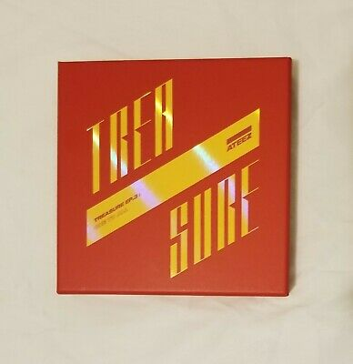 Ateez Treasure Ep.3 One To All Album Illusion Version With Hongjoong Pc
