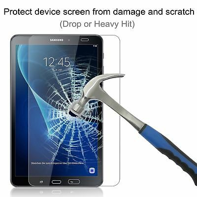 "Samsung Galaxy Tab A6 10.1"" Inches SM-T580 2016 Screen Tempered Glass Protector"