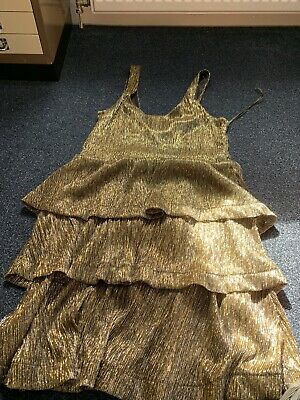 4b2ae5369 RARE GUCCI TOM Ford Runway 2004 Gold Sequin Halterneck Cocktail ...