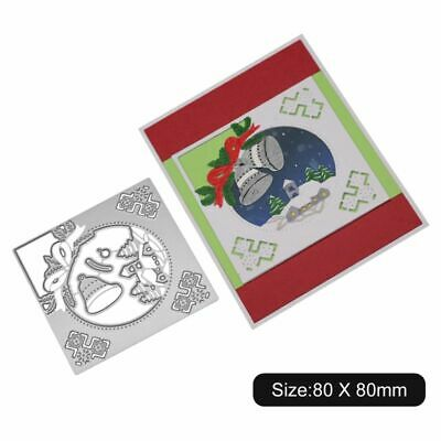 Christmas Bell Cutting Dies Stencil DIY Scrapbooking Paper Card Embossing Craft