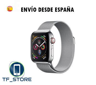 Pulsera Correa de Acero Inoxidable Apple Watch 1 2 3 4  Malla milanesa repuesto