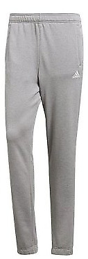 Adidas mens grey track suit bottoms only light grey white logo size 36/38   *21