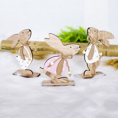 """Easter Bunny Wall Decor Garland Sparkle Ears 14/"""" x 9/"""" Plastic Cage Back 108G"""