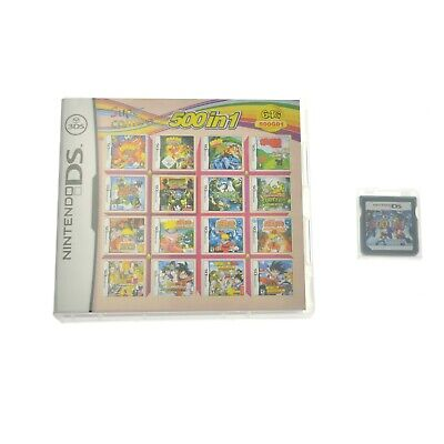 500 Games IN 1 Cartridge Multicart For Nintendo DS NDS NDSL NDSi 3DS 2DS XL