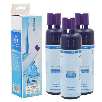 3Pack Refrigerator Water Filter #1 Fits for 10295370A 46-9930 9930 46-9081 9081