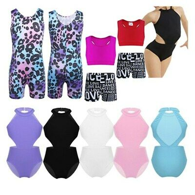 Girls Kids Ballet Dance Leotards Gymnastics Leotards Dancewear Athletic Jumpsuit