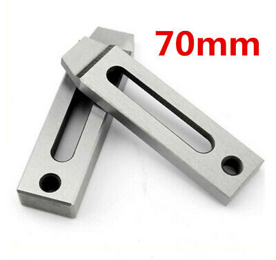 Wire EDM Stainless Jig Holder For Clamping 70 x 22mm M8 Thread CNC Machine Part