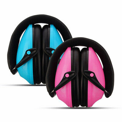 1X(Foldable Hearing Protection Ear Muffs Noise Cancelling Earmuff For Kids F6U5