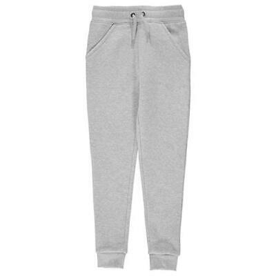 Firetrap Slim Joggers Girls Juniors Jogging Bottoms Jog Grey Size 7-8 yr *REF49