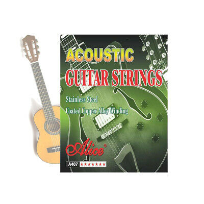 Acoustic Classic Steel Guitar Strings Coated Copper Alloy Winding Replacement