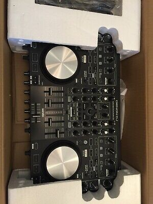 DENON MC6000 MK2 DJ Controller with cables - SPARES OR REPAIR