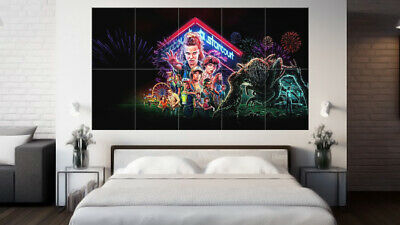Stranger Things 'Season 3' Poster - Wall Art - HUGE 33 x 58""