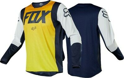 2019 Fox IDOL 180 Motocross MX Race OffRoad Jersey NAVY YELLOW Adult