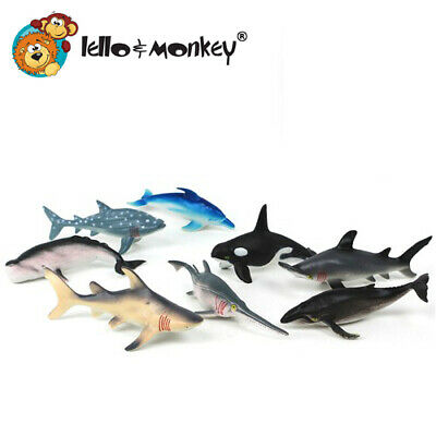 Shark Toy Animal Figures 6 Boxed Buy Direct From The Importer Uk Ebay 12 99 Picclick Uk