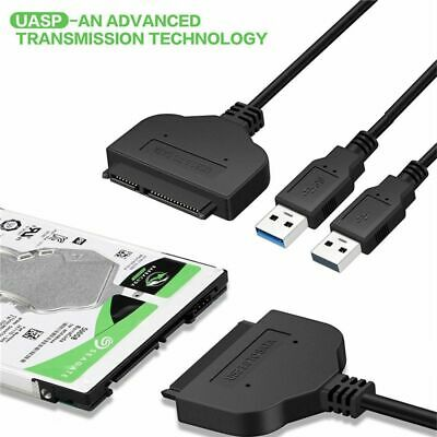 2.5 Inch Hard Drive Adapter Converter Cable External HDD SSD USB 3.0 To SATA