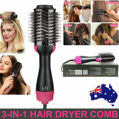 3 In 1 One Step Hair Dryer Comb and Volumizer Pro Brush Straightener G