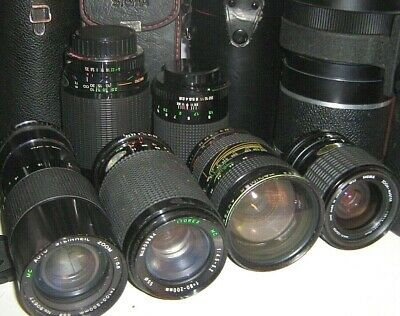 Pre-owned @ CAMERA ZOOM LENSES & other ACCESSORIES - click SELECT browse / order