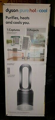 NEW Dyson Pure Hot+Cool Air Purifier Heater & Fan White/Silver # HP01