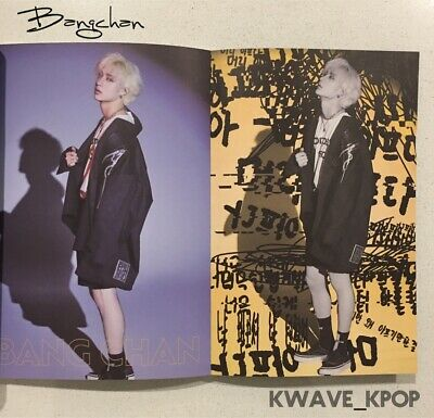 ✨Bangchan✨ Stray Kids Yellow Wood Cle2 Version Special Album 1 Cd Disc +Photo Bk
