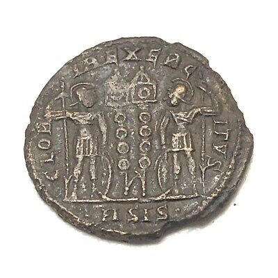 Authentic Ancient Roman Copper Coin Unidentified Token Artifact Antiquity Old I