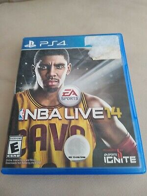 NBA Live 14 (Sony PlayStation 4, 2013) Video Game