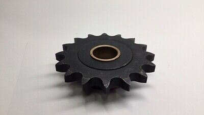 """UST 80B16 1-3/4"""" #80 Sprocket 16T 1-3/4"""" Bore with 1-7/16"""" ID Brass Bushing"""