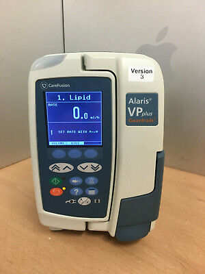 Carefusion Alaris VP Plus Guardrails Infusion Pumps WORKING ORDER FREE P&P IPX3