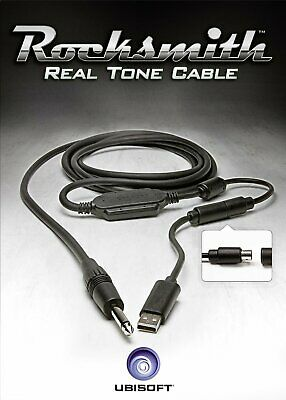 PS4-Rocksmith Real Tone Cable /Accessories NEW