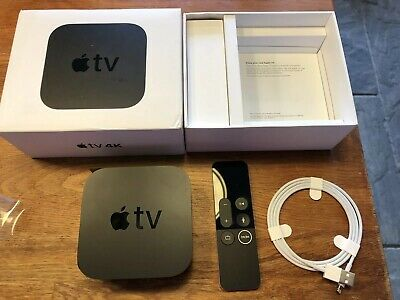 Apple TV (5th Generation) 4K 64GB HD Media Streamer - A1842 (One Month Old)