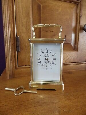 L Epee Large Early Carriage Clock In New Old Stock Condition Simply Beautiful