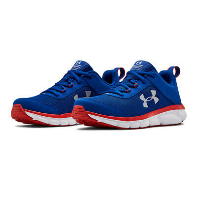 Under Armour Boys GS Assert 8 Running Shoes Trainers Sneakers - Blue Sports
