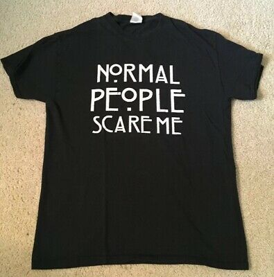 American Horror Story Normal People Scare Me - Mens Medium T Shirt - Pre Owned