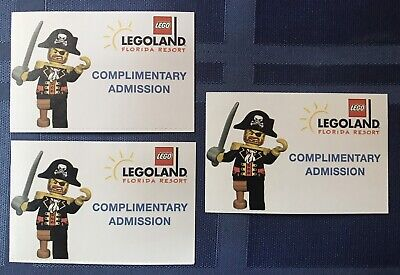 LEGOland Florida 1-Day Ticket, Park & Waterpark Combo Pass - Exp 4/24/20