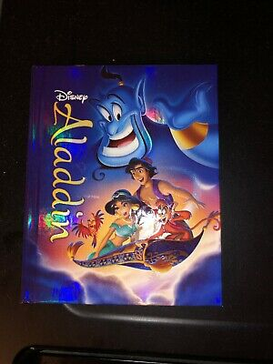 Aladdin (Blu-ray/DVD, 2015, 2-Disc Set, Storybook, Target Exclusive)