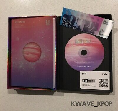 {BTS 방탄소년단 WORLD OST} - Photo Book + Lenticular Card - Brand New Unsealed