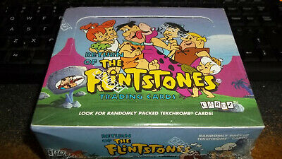 Return of the Flintstones Trading Cards Sealed Box 36 Packs Rare