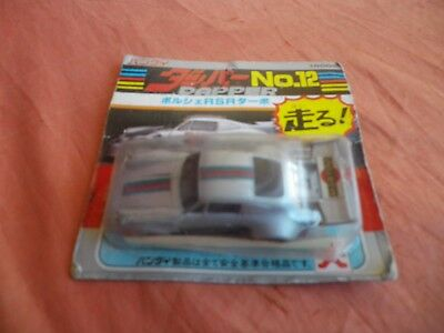 PORSCHE 911 RSR MARTINI RACING  1/64  DAPPER N 12 BANDAI JAPAN 80's DIECAST