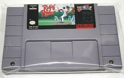 Relief Pitcher (Super Nintendo Entertainment System, 1993) Cleaned & Tested RARE
