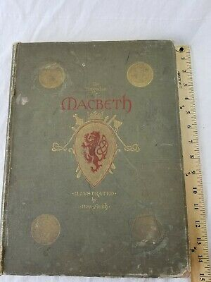 vintage rare Macbeth book illustrated by Moyr Smith large format