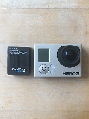 GoPro HERO3 WiFi Action Camera - White Edition.