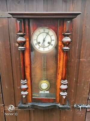 Antique vienna Wall Clock in Good working order